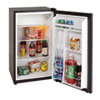 breakroom appliances: Avanti 3.3 Cu. Ft. Refrigerator with Chiller Compartment