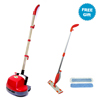 "double markdown: Boss Cleaning Equipment - Mini Gloss Boss Scrubber/Polisher with FREE 16"" Spray Mop System"