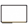 The Board Dudes The Board Dudes Magnetic Dry Erase Board with Cork Strip BDU 12764