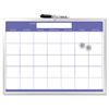 The Board Dudes The Board Dudes Magnetic Dry Erase Monthly Planner BDU 44070