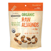 Popcorn Pretzels Nuts Almonds: Woodstock Farms - Organic Raw Almonds