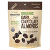 Popcorn Pretzels Nuts Almonds: Woodstock Farms - Dark Chocolate Almonds