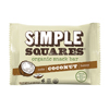 nutrition bars: Simple Squares - Organic Snack Bar - Coconut, Honey & Nut