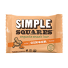 organic snacks: Simple Squares - Organic Snack Bar - Ginger, Honey & Nuts