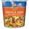 quick meals: Dr. McDougall's - Tortilla Soup with Baked Chips Big Cup Gluten Free
