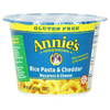 quick meals: Annie's Homegrown - Rice Pasta & Cheddar Mac n Cheese