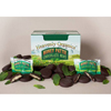 candy: Heavenly Organics - Raw Honey Pattie Chocolate Mint Candy