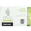 White Coffee French Roast Single Serve Organic Coffee BFG 55827