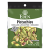 snacks: Eden Foods - Pocket Snacks Pistachios, Shelled and Dry Roasted