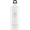 water dispensers: Sigg - White Swiss Emblem Water Bottle