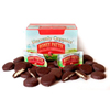 candy: Heavenly Organics - Raw Honey Pattie Chocolate Pomegranate Candy