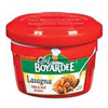 quick meals: Conagra Foods - Chef Boyardee Lasagna and Beef Mircowave Meal