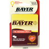 first aid medicine and pain relief: Convenience Valet - Bayer Asprin