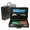 Carrying Cases: Bond Street, Ltd. Koskin Leather-Look Expandable Attaché Case