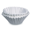 coffee filter: Flat Bottom Funnel Shaped Filters, for Bunn Sys III brewer