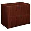 Basyx Furniture: HON - basyx™ BL Laminate Series Two-Drawer Lateral File Pedestal