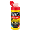 Abrasives: Big Wipes - Industrial+ 30-Count Abrasive Wipes