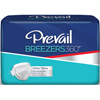 Incontinence Aids Briefs: First Quality - Prevail Breezers 360° Adult Brief Size 1 26-48in White