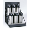Coffee Makers, Brewers & Filters: Wilbur Curtis - 6 Position Airpot Rack
