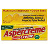 first aid medicine and pain relief: Aspercreme® Pain-Relieving Creme