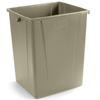 Carlisle 56 Gal Waste Container - Beige CFS 34405606EA