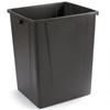Carlisle 56 Gal Waste Container - Brown CFS 34405669EA