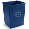 Carlisle 56 Gal Recycle Waste Container CFS 344056REC14EA
