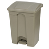 Safco-specialty-receptacles: Carlisle - 18 Gal Step-On Container - Beige