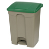 Safco-specialty-receptacles: Carlisle - 18 Gal Step-On Container - Green