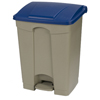 Safco-specialty-receptacles: Carlisle - 18 Gal Step-On Container - Blue