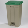 Safco-specialty-receptacles: Carlisle - Step-On Container 23 Gal - Green