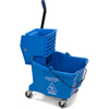 rubbermaid 30 gallon bucket: Carlisle - 35 Qt Mop Bucket/Wringer Combo - Blue