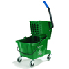 rubbermaid 30 gallon bucket: Carlisle - 26 Qt Mop Bucket/Wringer Combo - Green