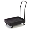 dollies: Carlisle - Cateraide Xt Dolly with Handle (For Xt3000R) - Black