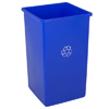 Recycling Containers: Continental - Swingline™ Square Recycling Receptacles