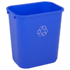Recycling Containers: Continental - Rectangular Recycling Wastebaskets
