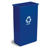 Recycling Containers: Continental - Wall Hugger™ Recycling Receptacles