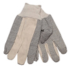 Safety-zone-cotton-gloves: Safety Zone - Cotton Canvas Gloves with PVC Dots - Men's