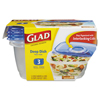 plastic containers: Glad® GladWare® Plastic Containers with Lids