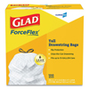 Waste Can Liners: Glad® Tall Kitchen Drawstring Bags