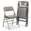 chairs & sofas: Bridgeport™ Deluxe Fabric Padded Seat and Back Folding Chair