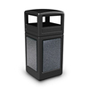 Commercial Zone Products 42-Gallon StoneTec Panel Container with Dome Lid CZP 72041399