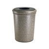 Commercial Zone Products 50-Gallon StoneTec Waste Container CZP 720920
