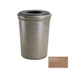 Commercial Zone Products 50-Gallon StoneTec Waste Container CZP 720921