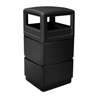 Commercial Zone Products 38-Gallon 3-tier Waste Container with Dome Lid CZP 73250199