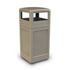 Commercial Zone Products 42-Gallon Square Waste Container with Dome Lid CZP 73290299