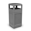 Commercial Zone Products 42-Gallon Square Waste Container with Dome Lid CZP 73290399