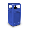 Commercial Zone Products 42-Gallon Square Waste Container with Dome Lid CZP 73290499
