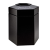 System-clean: Commercial Zone Products - 45-Gallon Hexagon Waste Container