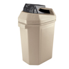 double markdown: Commercial Zone Products - 30-Gallon Can Crusher and Waste Container